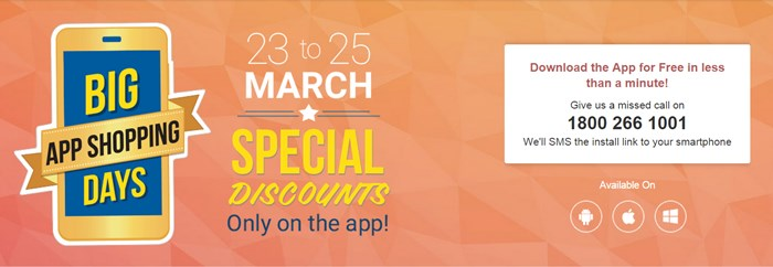 Flipkart Big App Shopping Sale from 23-25th March - Image 2