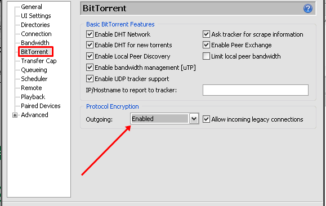 utorrent_preference_bittorrent