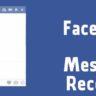 How to hide Facebook Message Seen Receipt