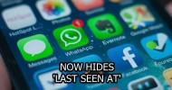 new whatsapp update let you hide 'last seen at' featured image