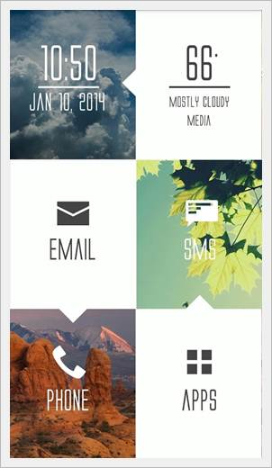 Android Launcher Best Top 5 GO launcher EX image 7