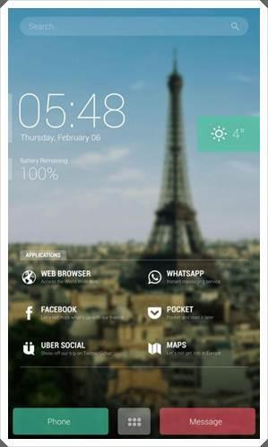 Buzz Launcher Screenshot 1 - Android Launcher Best Top 5 buzz launcher image 4