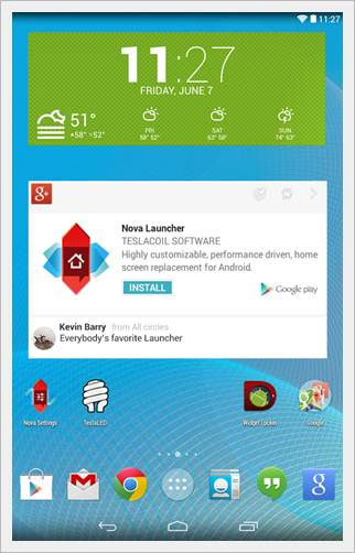 Nova Launcher Screenshot 1 - Android Launcher Best Top 5 nova launcher image 3