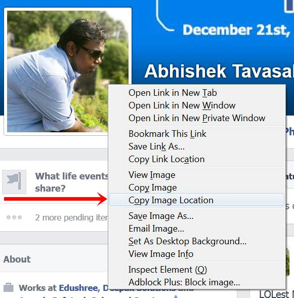 Facebook Profile Picture 3 facebook tricks on one tells you