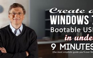 create a windows 7 bootable usb in under 9 minutes - featured image