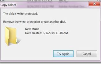 how to remove disk is write protected error image1
