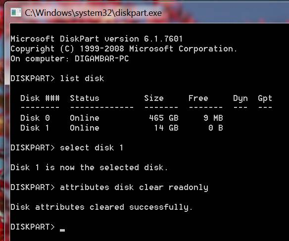 how to remove disk is write protected error image16
