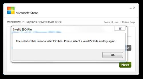 create a windows 7 bootable usb in under 9 minutes - windows 7 usb tool invalid iso file