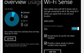 windows phone 8.1 wifi sense