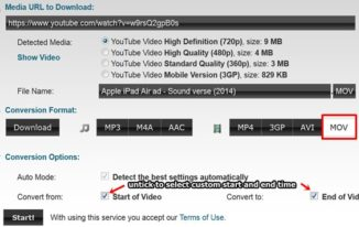 convert youtube videos using online video converter - Clipconverter.cc - select format
