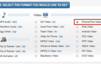 convert youtube videos using online video converter - benderconverter - select format