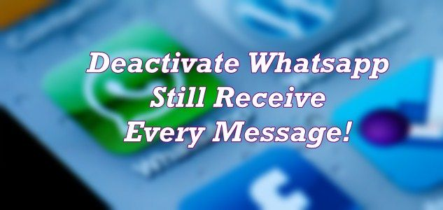 Greenify - Deactivate whatsapp and receive Whatsapp notification featured image