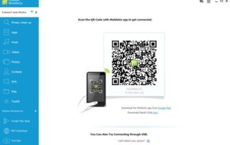 Wondershare MobileGo for Android PC Suite - QR code