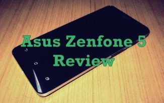 Asus Zenfone 5 Review with Kitkat 4.4.2 - Feaured Image