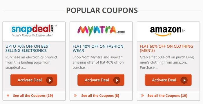 Zouton.com Review - Popular Coupons