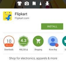 Flipkart Big App Shopping Days - Download via Playstore