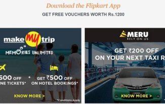 Flipkart Big App Shopping Days - Free Rs. 1200 Vouchers