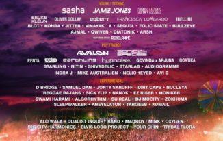 Sunburn GOA 2014, Full Line Up of Artists