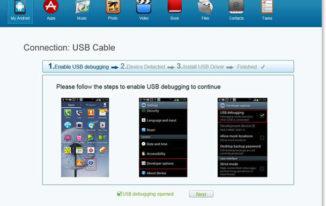 Vibosoft Android Mobile Manager - USB Debugging