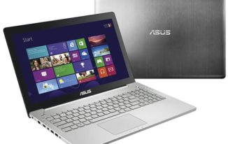 Asus N550JK-DS71T front and back - #4 Best Gaming Laptops under $1000