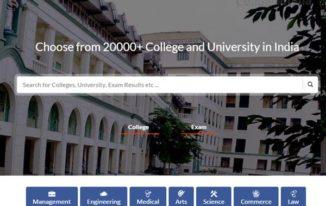 collegedunia.com review - homepage