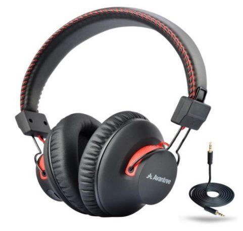 avantree bluetooth headphones over-ear - best over ear bluetooth headphones under $50