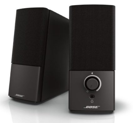 bose companion - best audiophile PC speakers - 12 Best Audiophile Computer Speakers Under $100-$500