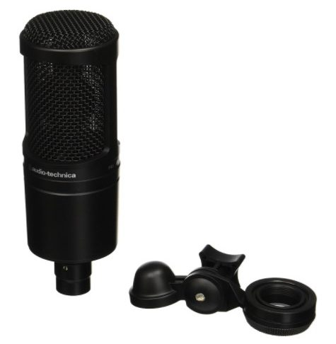 audio technica - best budget condenser microphones for Studio - Best Condenser Mics: 13 Best Condenser Microphones Under $200