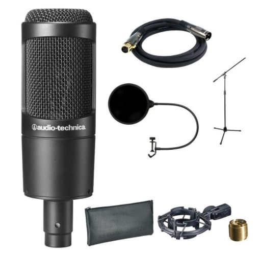 audio technica condenser microphones under $150 - Best Condenser Mics: 13 Best Condenser Microphones Under $200