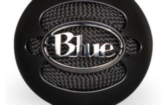 blue snowball condenser microphone