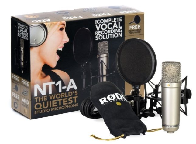 rode - best condenser microphone under $300 - Best Condenser Mics: 13 Best Condenser Microphones Under $200