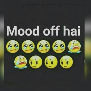 Mood Off DP for Whatsapp - Mood Off Pic for DP in Hindi