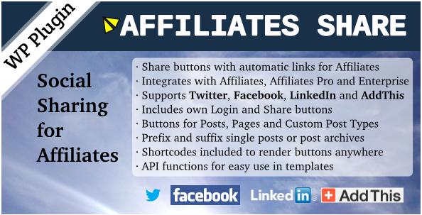 Affiliates Share WordPress Plugin - Best WordPress Referral Plugins