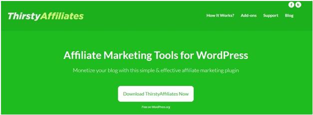Thirsty Affiliate - Best WordPress Referral Program Plugins